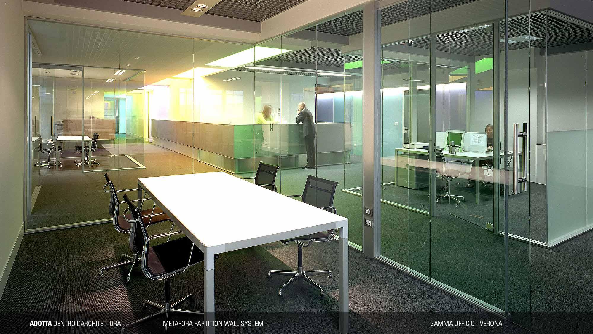 Ufficio A Verona : Gamma ufficio u adotta dentro l architettura