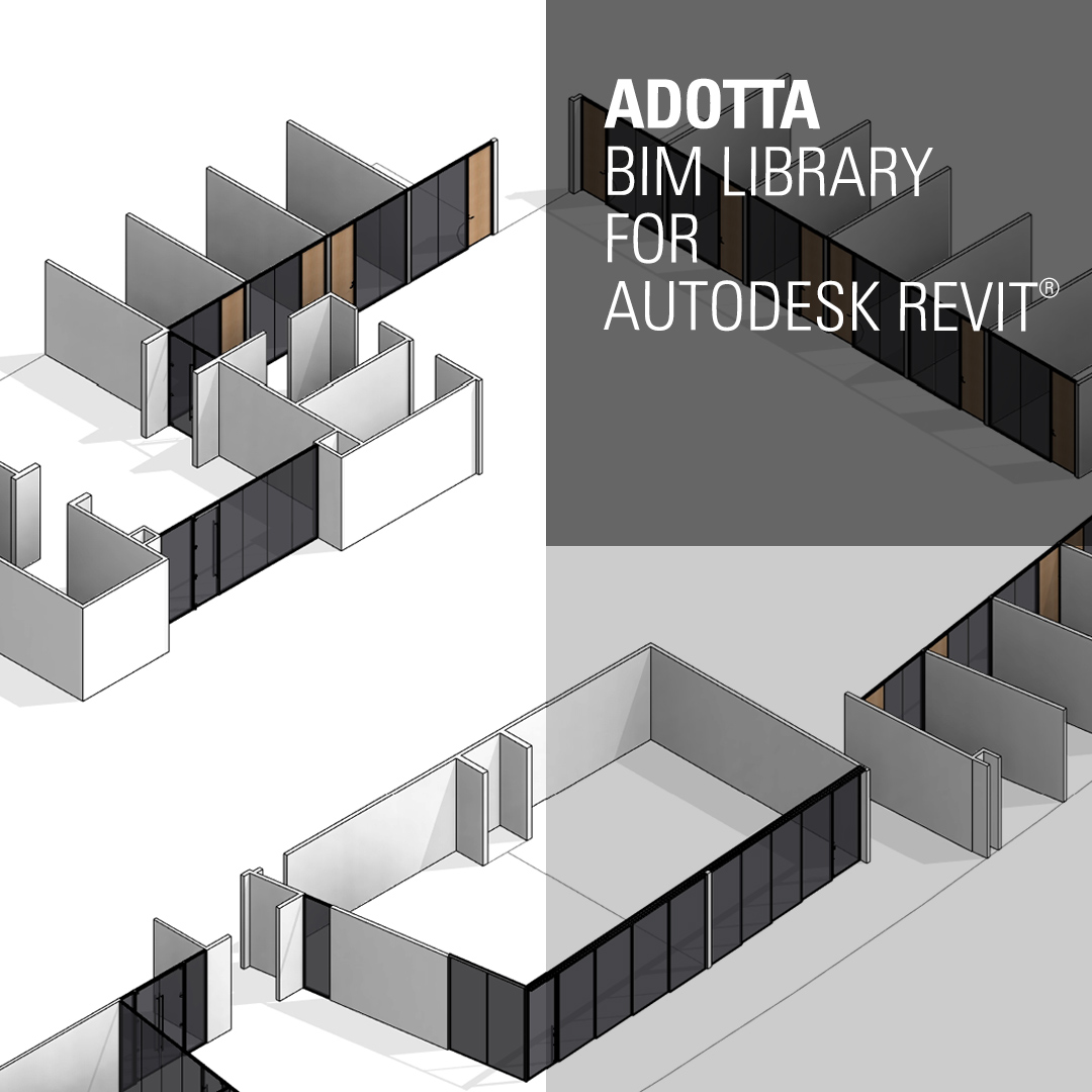 Adotta launches the new BIM Library – ADOTTA | DENTRO L'ARCHITETTURA