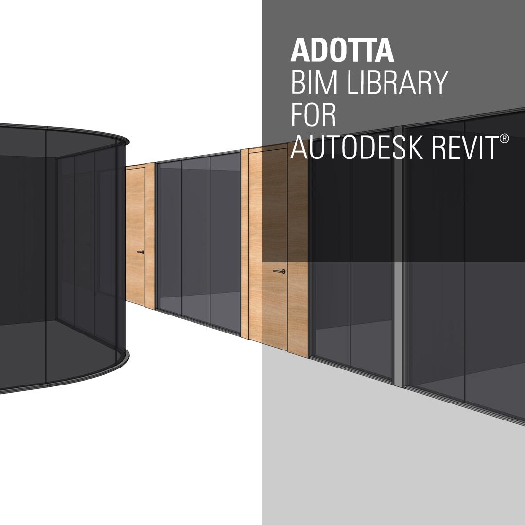Adotta launches the new BIM Library – ADOTTA   DENTRO L