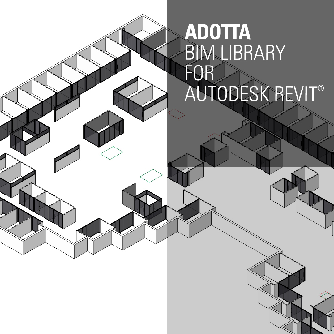 Adotta launches the new BIM Library – ADOTTA | DENTRO L'ARCHITETTURA
